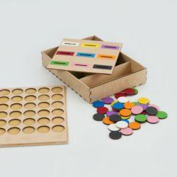 Vkládačky, dřevěné hry